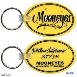 Mooneyes Key Chain - Mooneyes - Oval