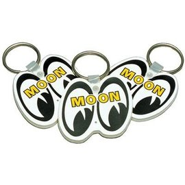 Mooneyes Key Chain - Mooneyes - White