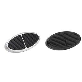 Lokar Standard Oval Billet Aluminum Brake/Clutch Pads