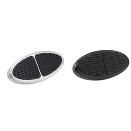 Lokar XL Oval Billet Aluminum Brake/Clutch Pads