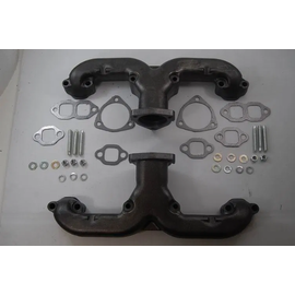 RPC SBC Ram Horn Style Exhaust Manifolds – Raw
