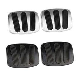 Lokar 76-77 Bronco Brake/Clutch Pedal Pads (pair)