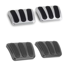 Lokar 62-72 Nova / Chevy II Brake / Clutch Pedal Pads (pair)