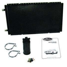Vintage Air 68-72 Oldsmobile Cutlass SureFit™ Condenser Kit W/ Drier - 021172