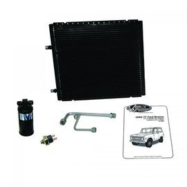 Vintage Air 66-77 Bronco W/ 6-Cylinder Core Support Gen IV SureFit™ Condenser Kit W/ Drier - 012004