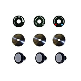 Vintage Air 68-83 FJ40 Land Cruiser Gen IV SureFit™ Control Panel Knob Upgrade Kit - 471201