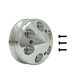 Vintage Air ProLine Alternator Pulley -  Single Groove - Machined Aluminum - Small Block or Big Block Chevy - 22301-VCQ
