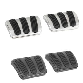 Lokar 67-76 Dart/Demon/Duster/Valiant/Scamp Brake/Clutch Pedal Pads (pair)