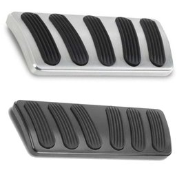Lokar 67-72 Chevy/GMC C-10 Curved Automatic Brake Pedal Pad (Long)