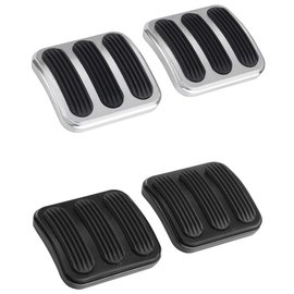 Lokar 46-10 Jeep Full Size Brake/Clutch Pedal Pads (Pair)