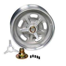So-Cal SO-CAL Speed Shop Hot Rod Wheel - Plain - 16 x 6 - 00163069