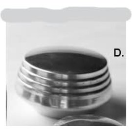 So-Cal So-Cal Air Cleaner Knob - Art Deco - Large - 00150410