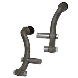So-Cal So-CalF1-Style Front Shock Mounts for Fendered Cars - Polished - 00160650