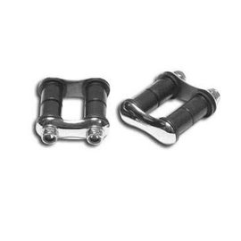 """So-Cal So-Cal Spring Shackles -  GT2 - 2 1/4"""" - Polished Stainless - 00160607"""