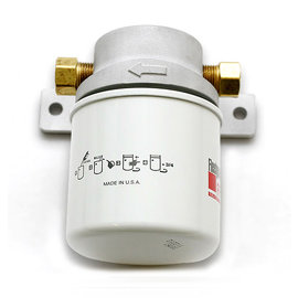 So-Cal So-Cal Screw-On Fuel Filter System - Satin Finish - 00172002
