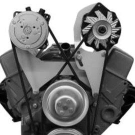 Vintage Air Alternator Bracket - Small Block Chevy - Short Pump - Driver Side - 15801-VCB