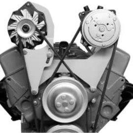 Vintage Air Alternator Bracket - Small Block Chevy - Short Pump - Passenger Side -  15803-VCB