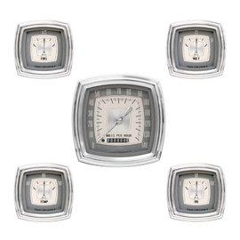 "Classic Instruments 5 Gauge Set - 4"" Speedo, 2 5/8"" Short Sweep FOTV - Esquire Series - ES00"