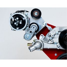 Kwik Performance AC Bracket - Wide Mount for Truck/LS3 Camaro Balancer - 508/709 - K10472