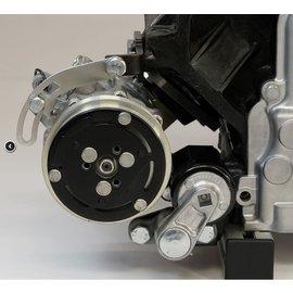 Kwik Performance AC  Bracket - Low Mount for Truck/LS3 Camaro Balancer - SD7B10 Compressor - K10421