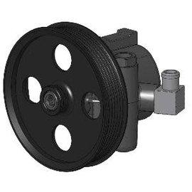 "Kwik Performance Power Steering Pump - New Type II - 90 Deg Hose Barb - 5.5"" Pulley - K10206-06 CB"