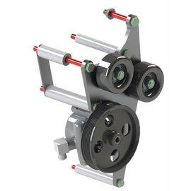 Kwik Performance Alt/PS Brackets for L83/L86 Truck - Include Type II Pump - K10460
