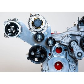 Kwik Performance AC/Alt/PS Brackets for L83/L86 Truck - 508/709 Compressor - Include Type II Pump - K10438