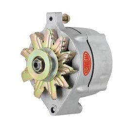 Powermaster Performance Powermaster Alternator -  100 AMP - One Wire - V-Belt Belt Type, Ford Alternator Case Style, 100 amp - 8-47101