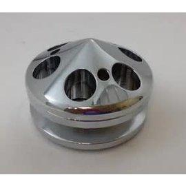 RPC Alternator Pulley/Nose V-Belt - Polished Alum