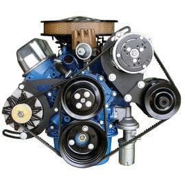 Vintage Air 289-351W Power Steering Add on Kit - Drivers Side - 131108