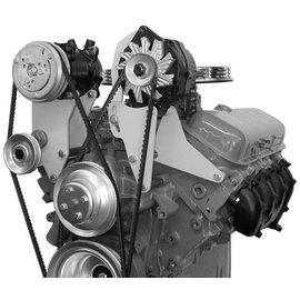 Vintage Air Big Block Chevy with Long Pump Top-Mount Bracket - Compressor Only passenger side - 15131-VCB