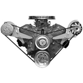 Vintage Air Big Block Chevy with Short Pump Side-Mount Brackets - Alternator Only driver side - 15820-VCB