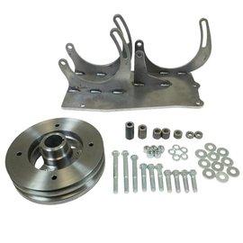 Vintage Air Steel-eez Chevy 6-Cylinder Brackets 270 Compressor Alternator bracket kit - 142400