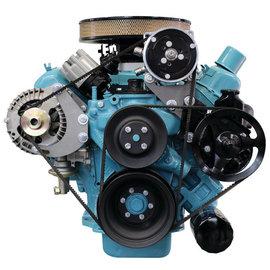 Vintage Air Mopar 383 - 440 Compressor and Alternator Mount Bracket - with Power Steering only - 161002