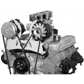 Vintage Air Buick 401-425 Nailhead compressor and alternator mount bracket - 151101