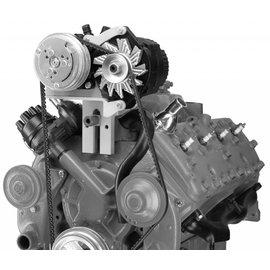 Vintage Air Ford 1950-53 Compressor and Alternator Flathead Mount Bracket - 131004