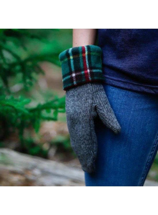 Newfoundland Tartan Wool Mittens