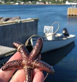 Starfish Ornament Handmade in NL
