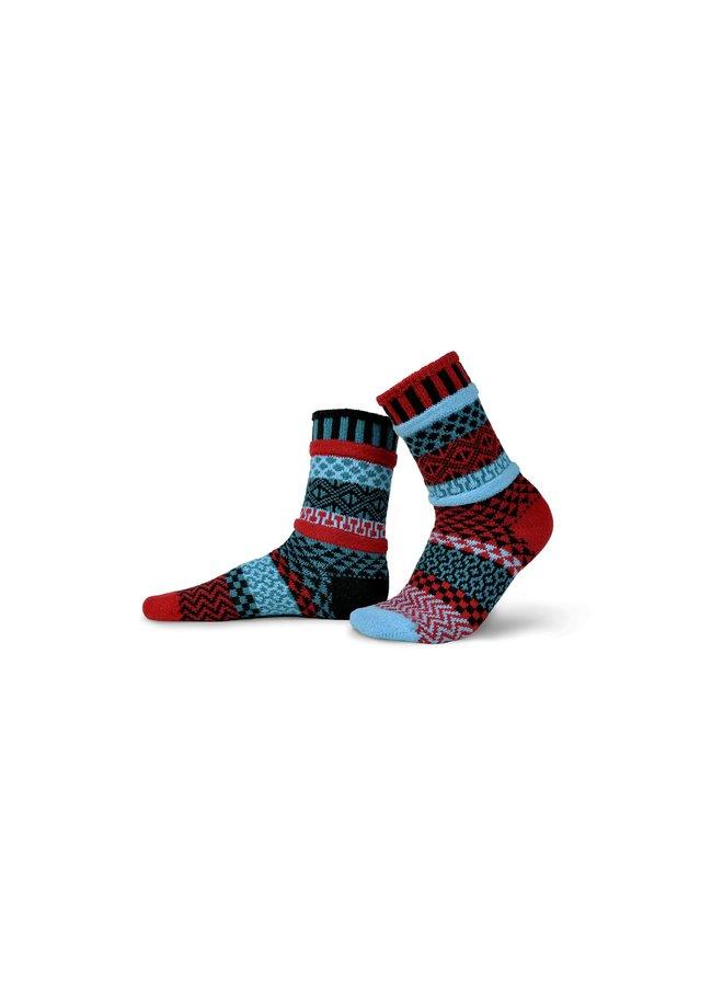 Mars Adult Crew Socks