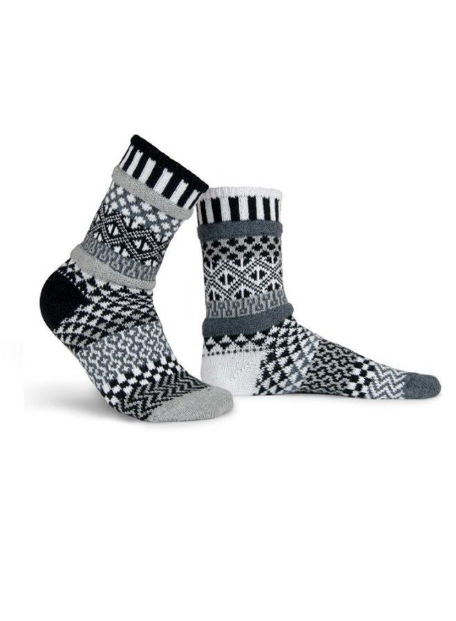 Midnight Adult Crew Socks