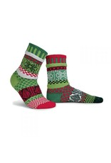 Mistletoe Adult Crew Socks