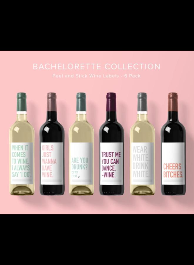 Bachelorette Wine Labels