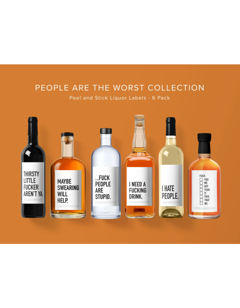 People Are The Worst Liquor Labels
