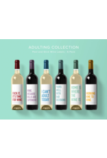 Adulting Wine Labels