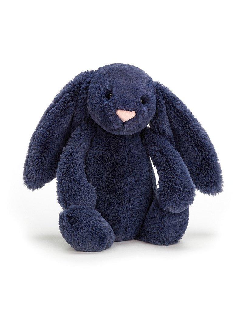 Bashful Medium  Navy Bunny