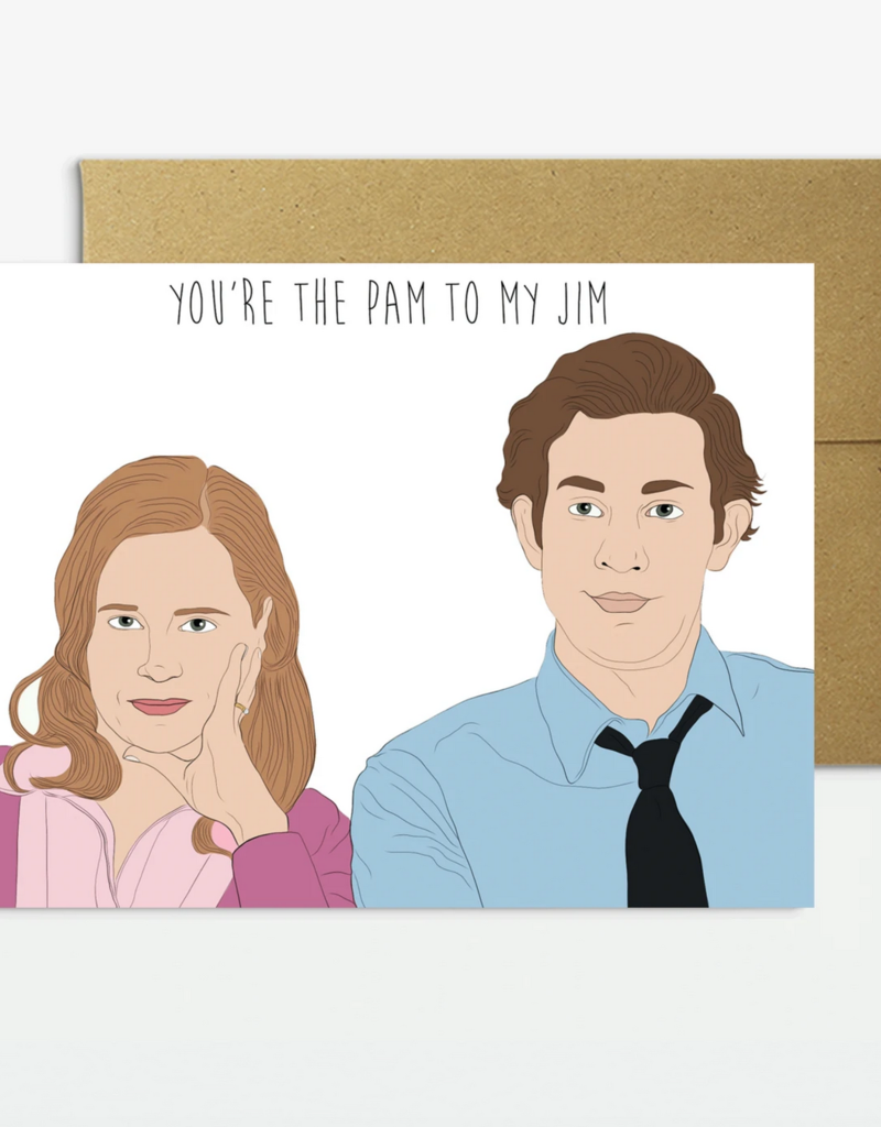 Pam To My Jim Card