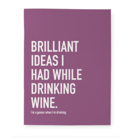 Wine Idea Notebook