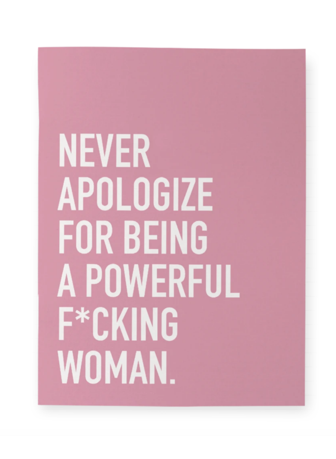 Powerful Woman Notebook