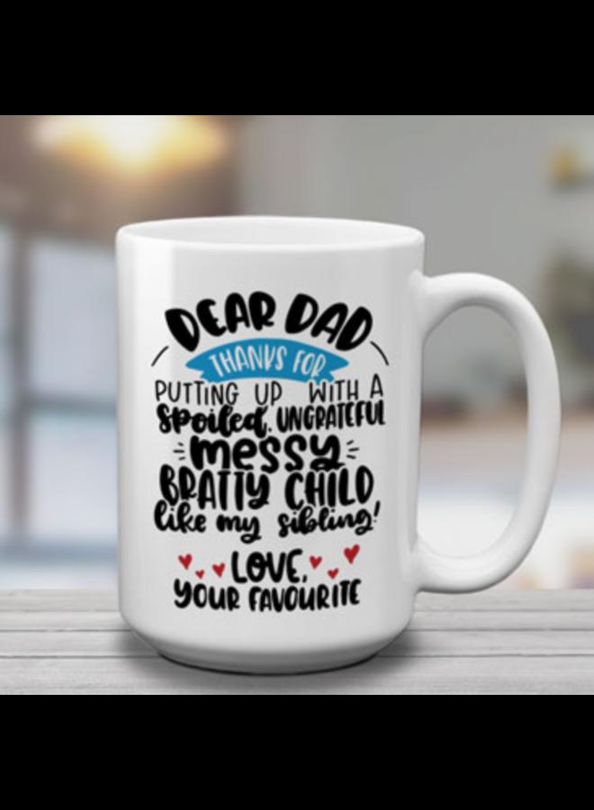 Dear Dad Mug