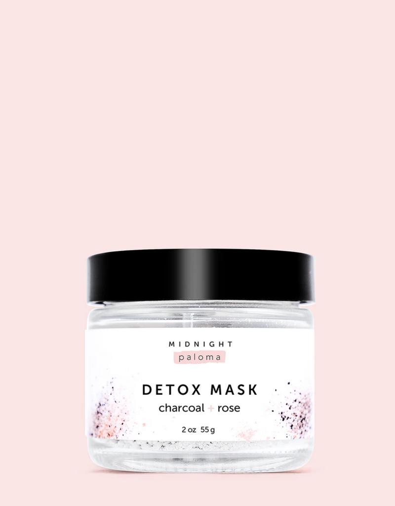 Charcoal + Rose Detox Mask